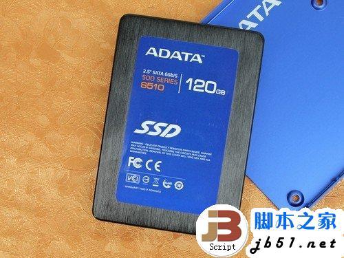 固态硬盘威刚 S510(120GB)正面